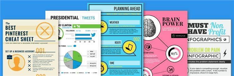 Сервис для создания инфографики Venngage