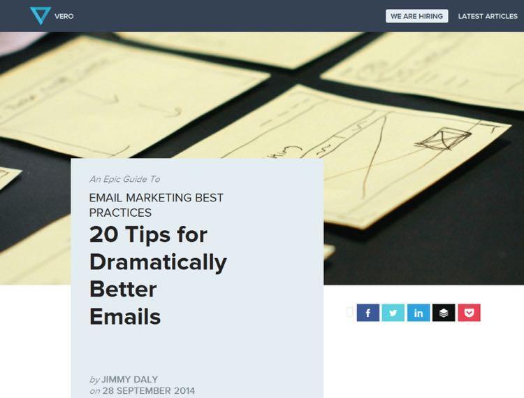 Невероятное руководство по лучшим приемам в email-маркетинге: 20 советов для создания потрясающих электронных рассылок.