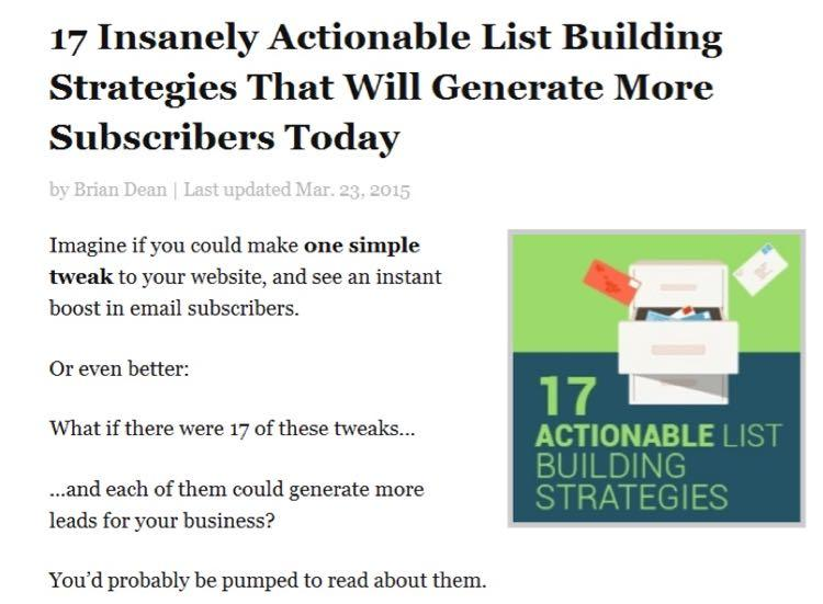 Пару месяцев назад я выложил пост «17 невероятно полезных стратегий получения большего числа подписчиков прямо сегодня»