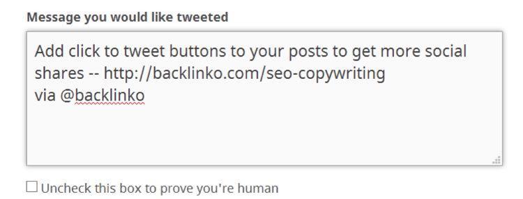 И превратите ваш действенный совет в твит