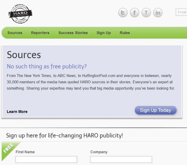 Вы наверняка слышали оHARO – сервисе, который объединяет журналистов и источники информации