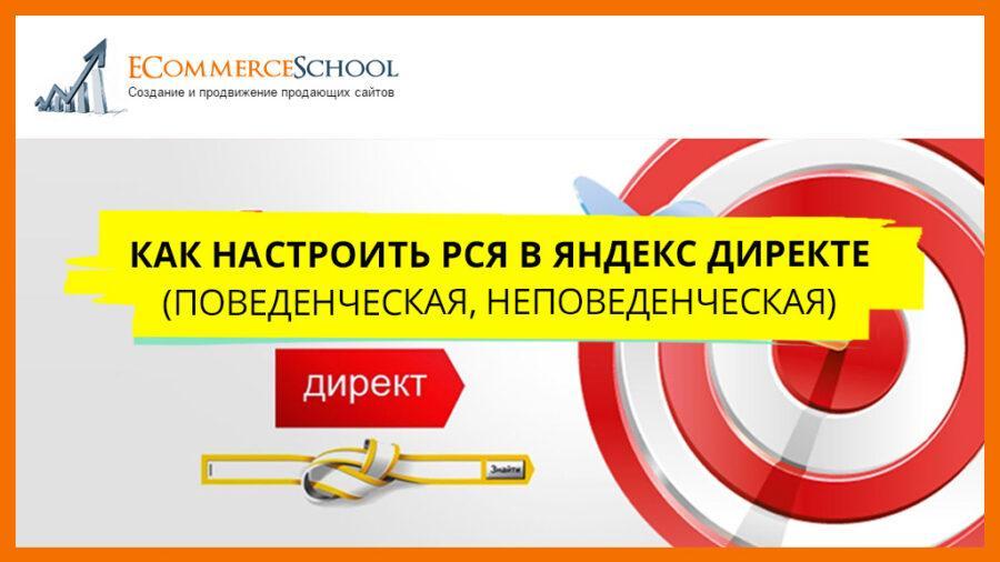 Как настроить РСЯ в Яндекс Директе (поведенческая, неповеденческая)