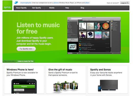 Spotify до редизайна