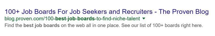 Вот как теперь выглядит его результат поисковой выдачи в Google