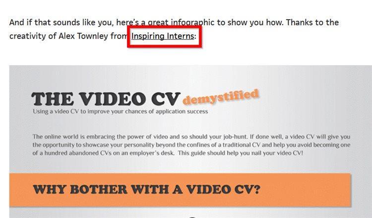 Например, Дэвиду удалось добиться размещения своей инфографики на Warwick.ac.uk (DA88)