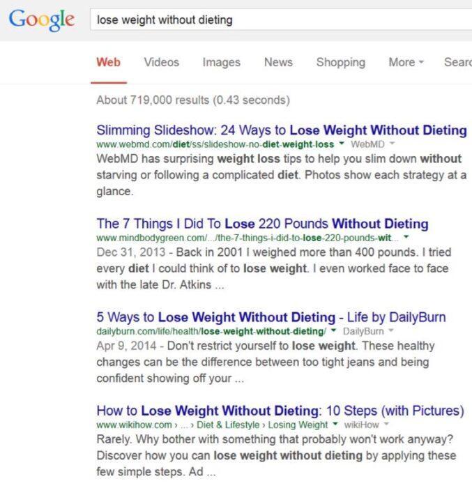 Затем я превращаю эти слова в запросы Google