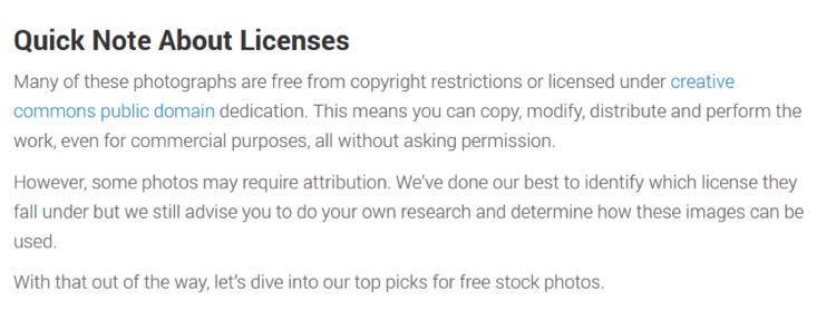 2. Он кратко описал разные типы лицензий (простыми словами)