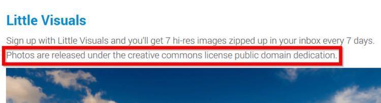 3. Он указал, какую лицензию использует каждый сайт
