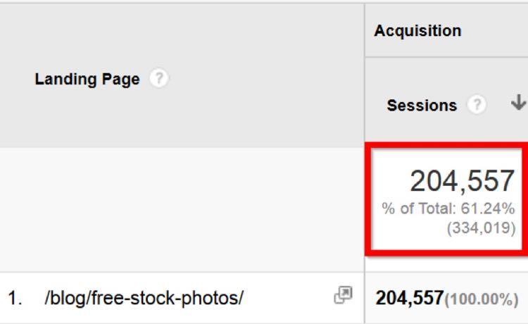 Небоскребный контент Криса за 4 месяца в общей сложности сгенерировал более 204,000 посетителей
