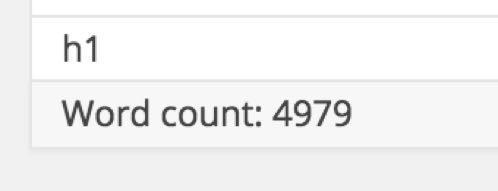 А длина поста составила 4979 слов