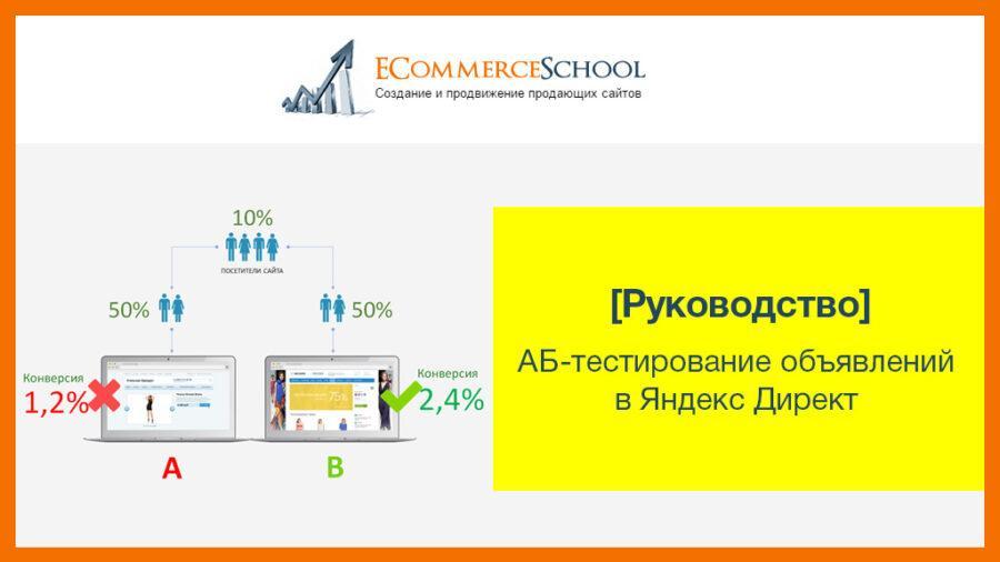 [Руководство] АБ-тестирование объявлений в Яндекс Директ